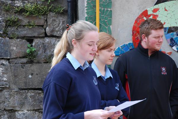 Presentation to John O'Loughlin