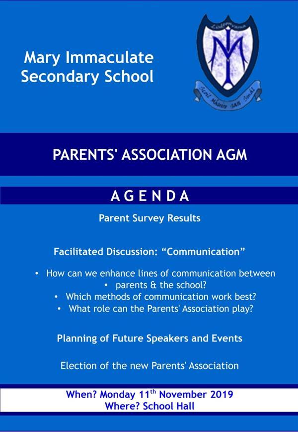 Parents' Association Notification