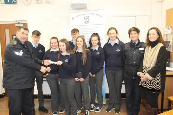 Garda AWARD for our Innovative TYs 18/19