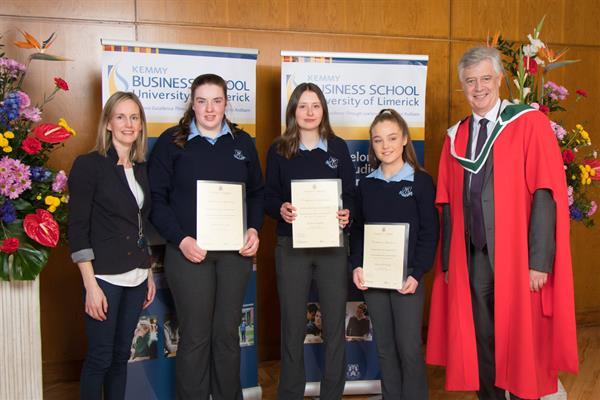 University of Limerick Junior Certificate Award Ceremony