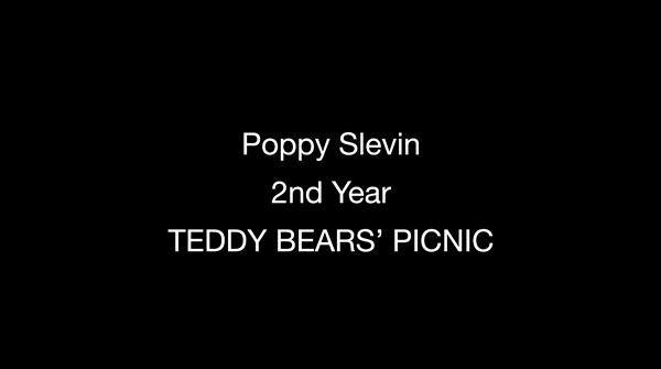 "Poppy Slevin, Second Year, Stop Motion Animation Film ""Teddy Bear Picnic"