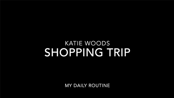 "Katie Woods, Second Year, Stop Motion Animation Film ""Shopping Trip; My Daily Routine"""
