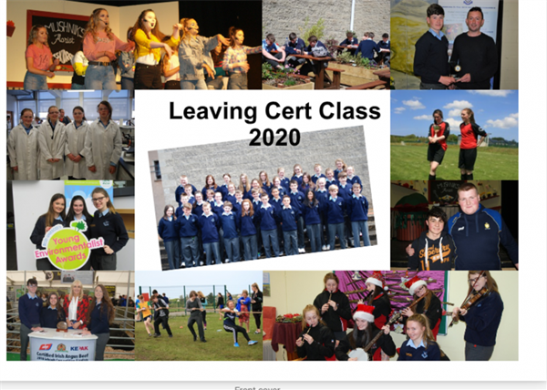 Leaving Cert Class of 2020 - Congratulations to you all