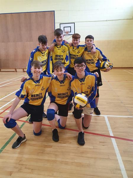 Junior Boys Volleyball Success