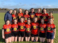 Well done to the Mary Immaculate 1st year girls