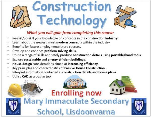 Further Ed- Construction Studies