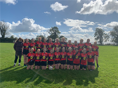Victory for our Ladies Footballers today
